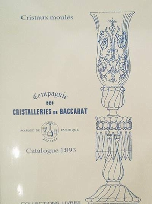 Cristalleries de Baccarat catalogue 1893