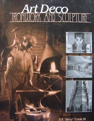 Boek art deco ironwork sculpture fer forge for Deco fer forge mural