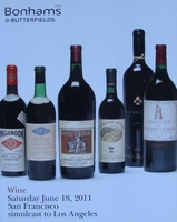 Auction Catalog - Wine June 18, 2011