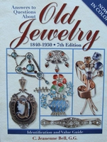 Answers To Questions About Old Jewelry 1840-1950