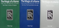 The Magic of a Name - The Rolls-Royce Story - 3 Volumes