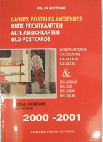 Cartes postales ancien cotations 2000-2001