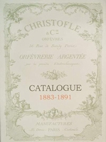 Catalogue Christofle 1883-1891