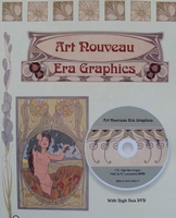 Art Nouveau Era Graphics with DVD