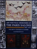 Art Nouveau Designers at The Paris Salons 1895-1914