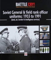 Soviet General and field rank officers uniforms 1955 to 1991